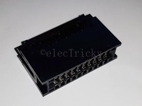 Leiterplattenrandverbinder 2x10 Kontakte