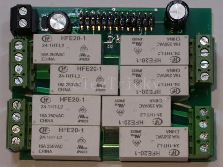 DIY Teile-Set - Selfbus 8out - 16A für ARM Controller