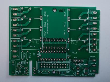 PCB Selfbus 8out 10A v8.6