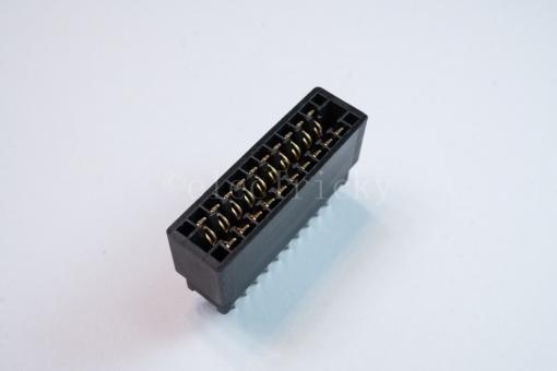 Platinensteckverbinder 2 x 10 polig