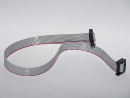 10-poliges Flachbandkabel mit RM2,00 IDC Steckern