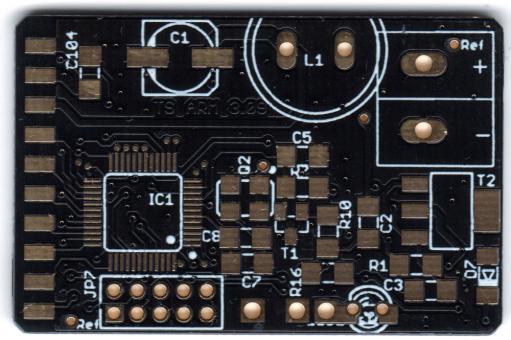PCB Selfbus TS ARM / ARM Eingangsmodul